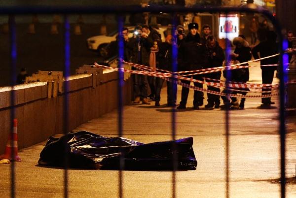 немцов, убийство, труп|Фото:Михаил Джапаридзе / ТАСС