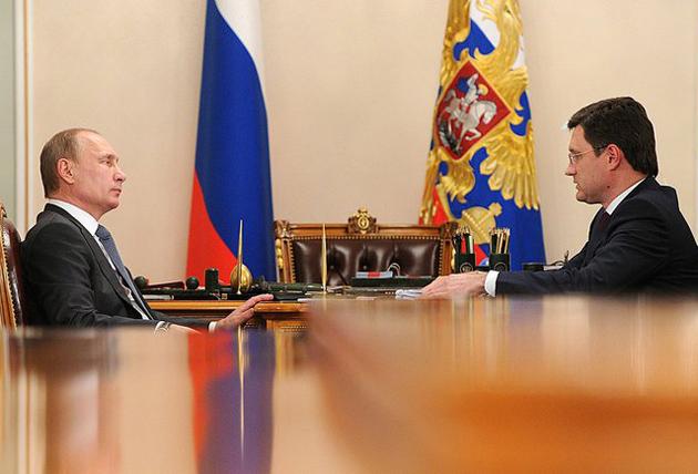 Владимир Путин, Александр Новак|Фото: kremlin.ru