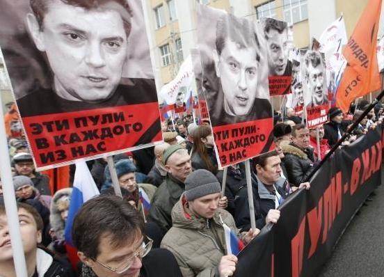 Марш памяти Немцова, эти пули каждого из нас|Фото: http://censor.net.ua/