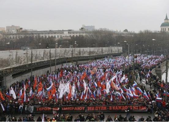Марш памяти Немцова, эти пули в каждого из нас|Фото: http://censor.net.ua/