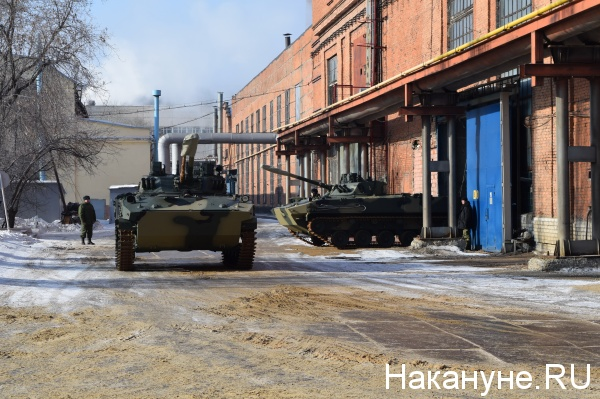 БМД-4М, Курган, Курганмашзавод|Фото: Накануне.RU