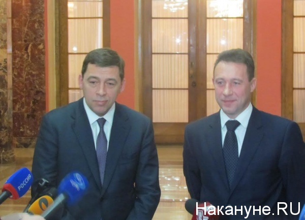 Евгений Куйвашев, Игорь Холманских|Фото: Накануне.RU