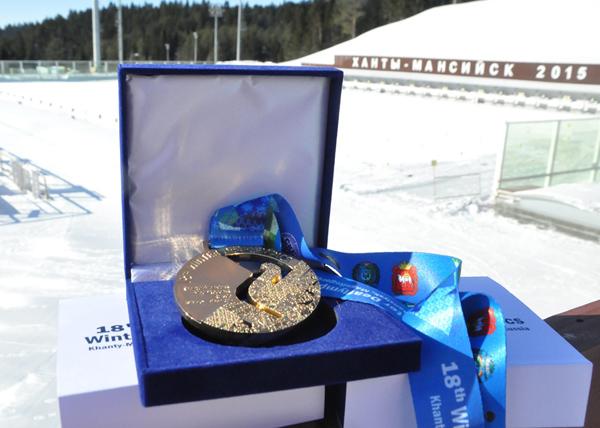 Медаль Сурдлимпийских игр|Фото: Пресс-служба Сурдлимпийских игр