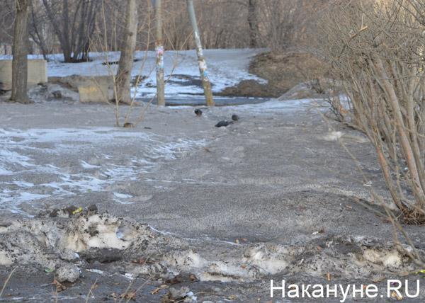 Екатеринбург, весна, грязь, улицы|Фото: Накануне.RU