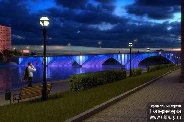 Макаровский мост, проект, мост, реконструкция|Фото: Комитет по строительству администрации Екатеринбурга