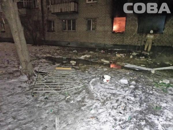 Взрыв газа на ул. Заводской, спасатели, пожар, лестница|Фото:Сова