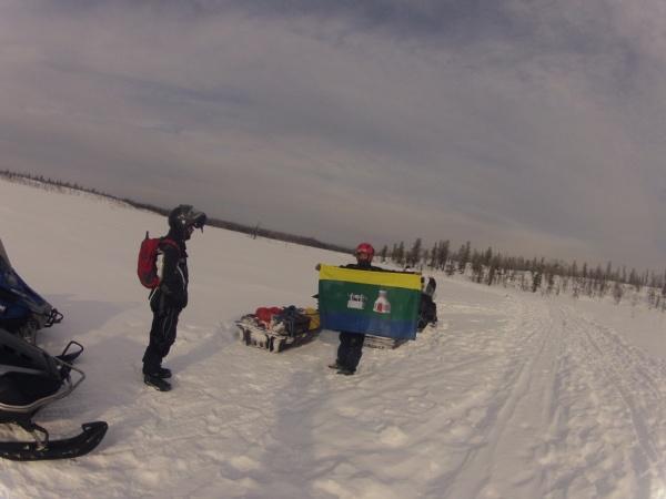 снегоходы, маршрут, туризм, туристы, экспедиция Фото: Интересный Екатеринбург