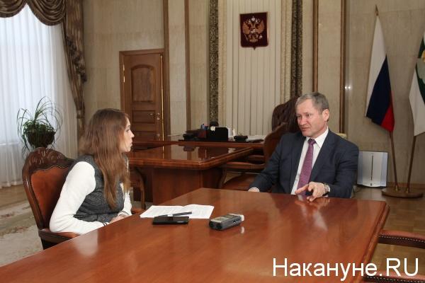 Алексей Кокорин губернатор Курганской области интервью|Фото: Накануне.RU