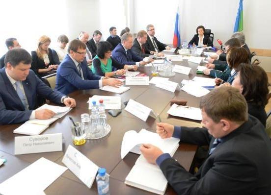 Наталья Комарова, совет по развитию инвестиционной деятельности|Фото: правительство ХМАО