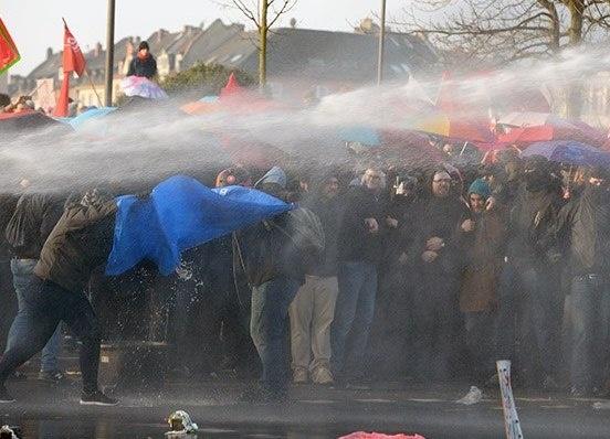 беспорядки, ЕЦБ, протест, митинг, Франкфурт, Германия|Фото: rg.ru/