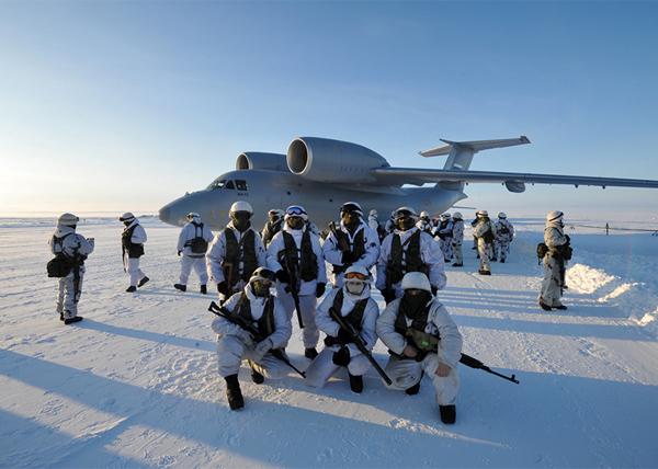 передовые подразделения ВДВ России, АН-72, Арктика|Фото: минобороны.рф