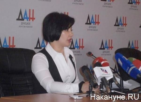 министр экономического развития ДНР Евгения Самохина|Фото: Накануне.RU