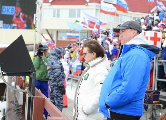 кубок мира по биатлону, биатлон, соревнования, Наталья Комарова|Фото: правительство ХМАО
