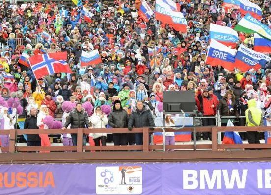 кубок мира по биатлону, биатлон, соревнования|Фото: правительство ХМАО