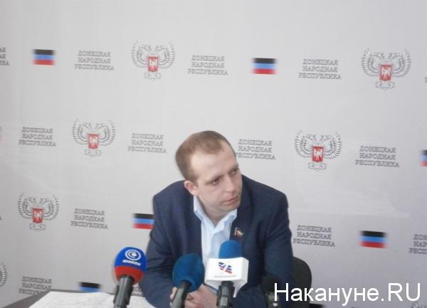 Министр транспорта ДНР Семен Кузьменко|Фото: Накануне.RU