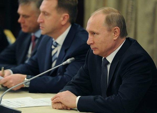 Путин, Шувалов, заседание РСПП|Фото: пресс-служба кремля