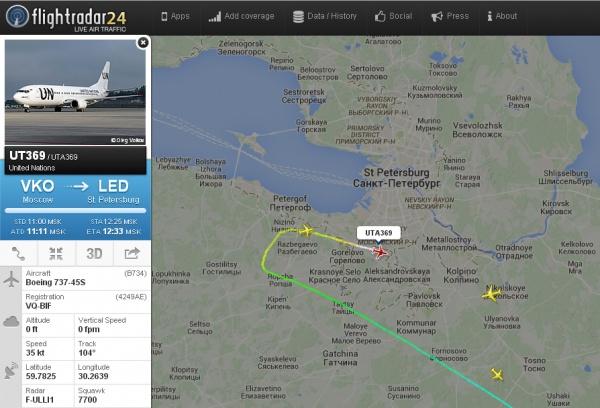 аварийная посадка, петербург, боинг, флайрадар|Фото: flightradar24.com