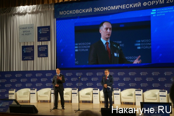 мэф, московский экономический форум, бабкин, гринберг|Фото: Накануне.RU