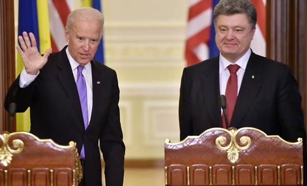 Петр Порошенко, Джо Байден|Фото: U.S. Embassy Kyiv Ukraine