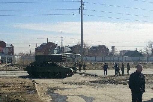 репетиция парада в Екатеринбурге, танки, военные|Фото:https://vk.com/te_ekb