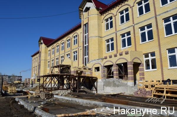 Курган, строительство, детский сад|Фото: Накануне.RU