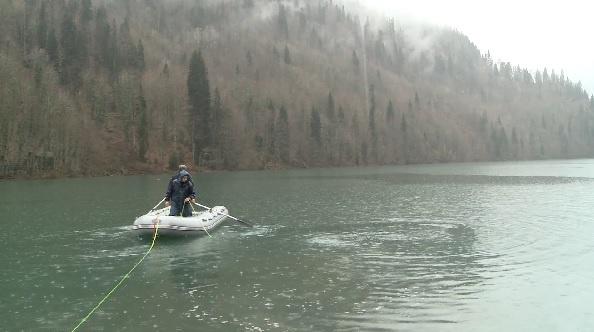 поиски, озеро Рица, спасатели, Абхазия|Фото: МЧС Абхазии