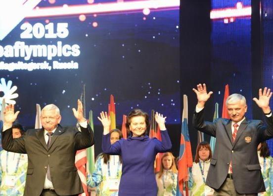 сурдлимпийские игры, закрытие, Наталья Комарова Фото: правительство ХМАО