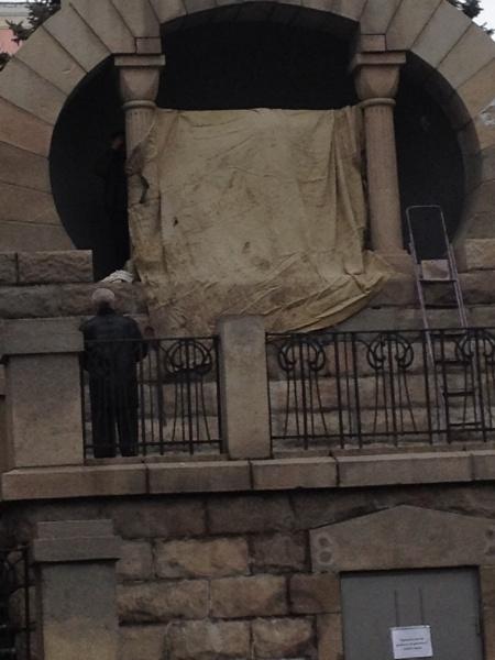 ленин, памятник, челябинск, вандалимз|Фото:накануне.ру