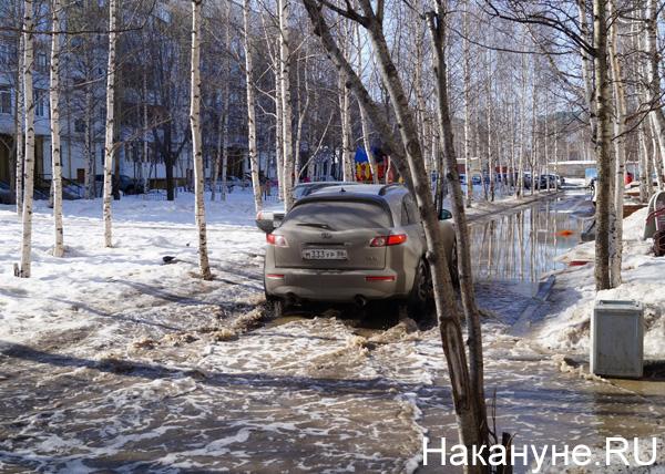 Потоп, Нефтеюганск|Фото: Накануне.RU