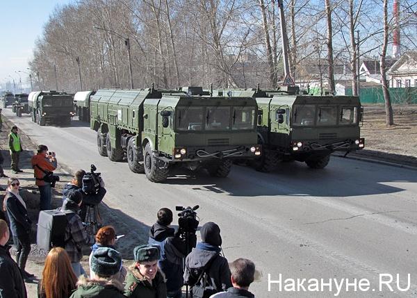 армия оперативно-тактический ракетный комплекс искандер(2015) Фото: Накануне.ru
