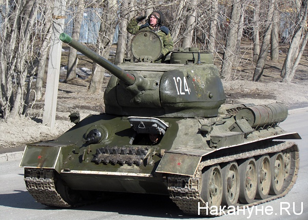 армия танк т-34|Фото: Накануне.ru