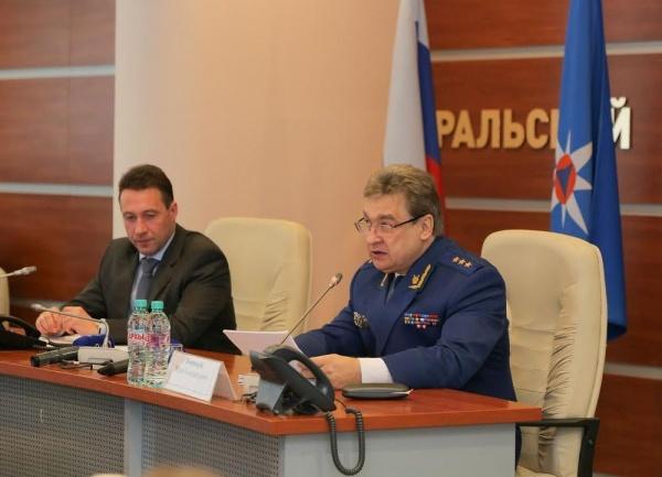 Игорь Холманских, Юрий Пономарев Фото: МЧС