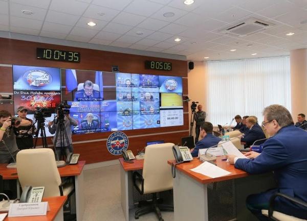 Совещание, генпрокуратура УрФО, Юрий Пономарев Фото: МЧС