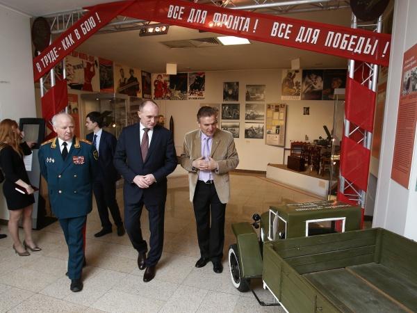 дубровский, музей, война|Фото:пресс-служба губернатора челябинской области