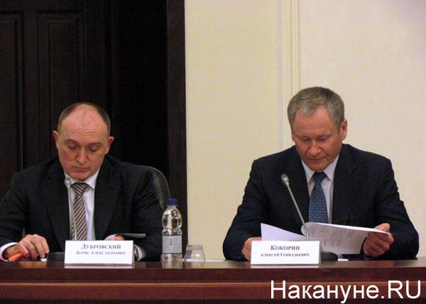 Совет по информационной политике, Борис Дубровский, Алексей Кокорин|Фото: Накануне.RU