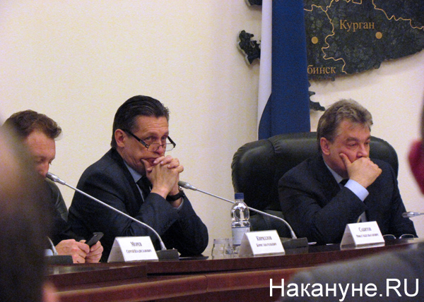 Совет по информационной политике, Рифат Сабитов, Юрий Пономарев|Фото: Накануне.RU