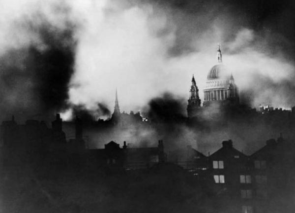Лондон, 1940, бомбардировки|Фото: