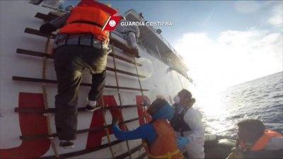 кораблекрушение, мигранты, ливия Фото: