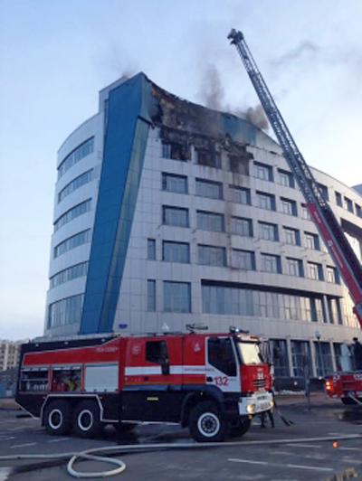 пожар, Арбитражный суд, ХМАО|Фото: mchs.gov.ru