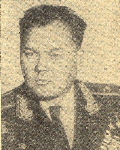 Метроном Победы, Григорий Речкалов, Герой Советского Союза Фото: