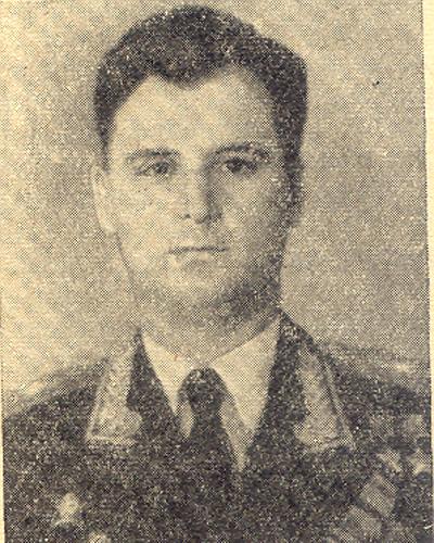 Метроном Победы, Михаил Одинцов, Герой Советского Союза Фото: