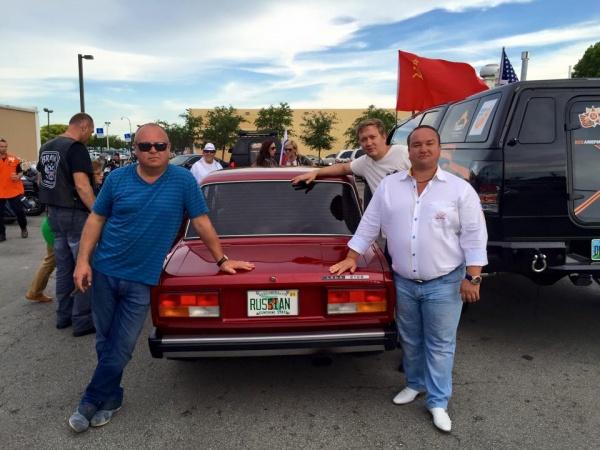 автопробег, 70-летие Победы, США|Фото: