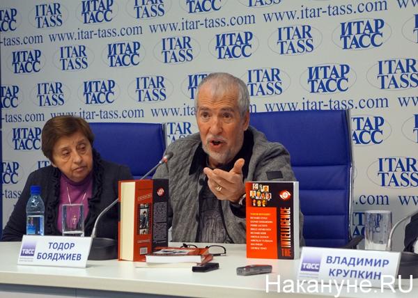Презентация книги о Киме Филби, Тодор Бояджиев|Фото: Накануне.RU