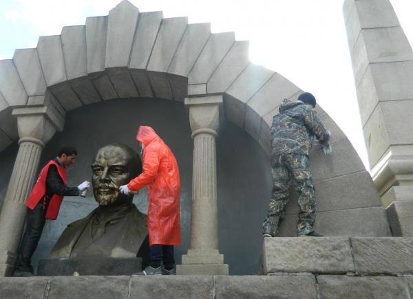 ленин, памятник, обновление|Фото:кпрф челябинской области