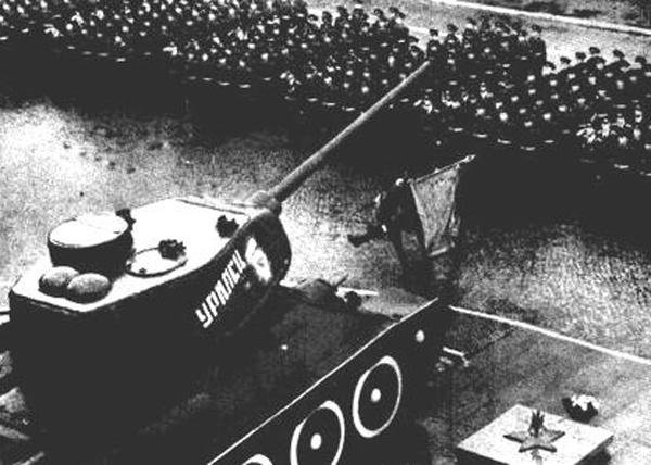 Метроном Победы, Великая Отечественная, война, Уральский Добровольческий танковый корпус|Фото: