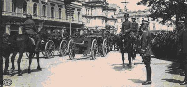 Польский парад в захваченном Киеве Фото: