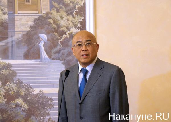 заместитель главы международного отдела ЦК КПК Чжоу Ли|Фото: Накануне.RU