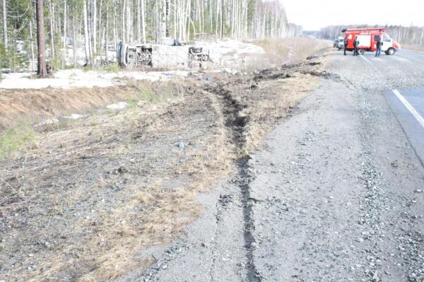 автобус, авария, Тюменская область|Фото: ГИБДД Тюменской области