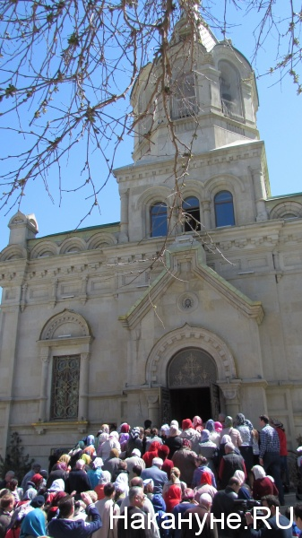 кафедральный собор Жен-Мироносиц, Баку, православие, крестный ход|Фото: Накануне.RU