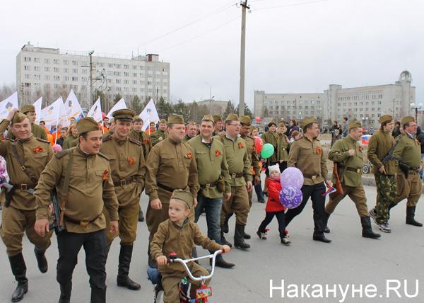 День победы в Нефтеюганске|Фото: Накануне.RU